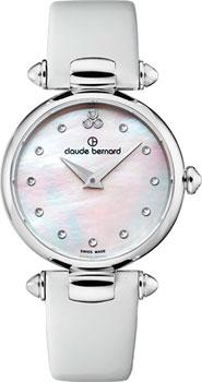 Швейцарские наручные  женские часы Claude Bernard 20501-3NADN. Коллекция Dress code
