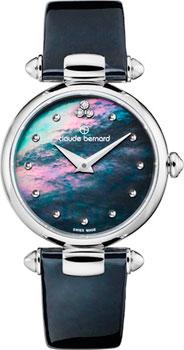 Швейцарские наручные  женские часы Claude Bernard 20501-3NANDN. Коллекция Dress code