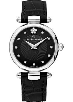 Швейцарские наручные  женские часы Claude Bernard 20501-3NPN2. Коллекция Dress code