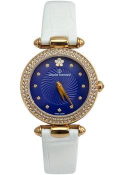 Швейцарские наручные  женские часы Claude Bernard 20504-37RPBUIPR. Коллекция Dress code with stones