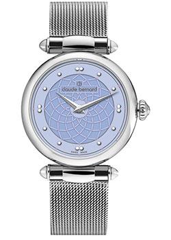 Швейцарские наручные женские часы Claude Bernard 20508-3MCIELN. Коллекция Dress code фото