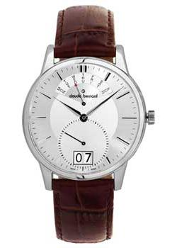 Швейцарские наручные  мужские часы Claude Bernard 34004-3AIN. Коллекция Northline
