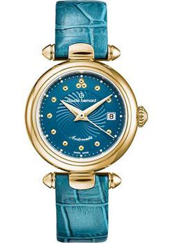 Швейцарские наручные  женские часы Claude Bernard 35482-37JBUPID. Коллекция Dress Code Mini Automatic