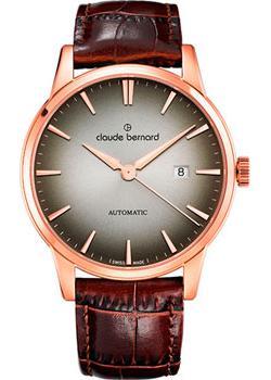 Швейцарские наручные мужские часы Claude Bernard 80091-37RDIR1. Коллекция Classic Automatic фото