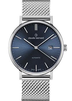 Швейцарские наручные мужские часы Claude Bernard 80102-3MBUIN. Коллекция Classic Automatic фото