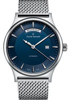 Швейцарские наручные  мужские часы Claude Bernard 83014-3MBUIN1. Коллекция Classic Automatic day-date