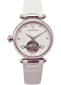 Швейцарские наручные  женские часы Claude Bernard 85022-3APN. Коллекция Dress Code Automatic Open Heart
