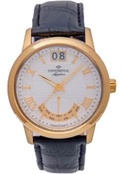 Швейцарские наручные мужские часы Continental 12175-GR254710. Коллекция Classic Statements