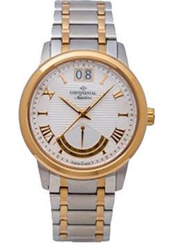 Швейцарские наручные мужские часы Continental 12175-GR312710. Коллекция Classic Statements