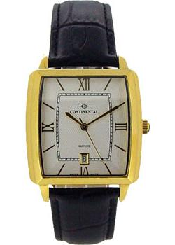 Швейцарские наручные мужские часы Continental 12200-GD254110. Коллекция Sapphire Splendour