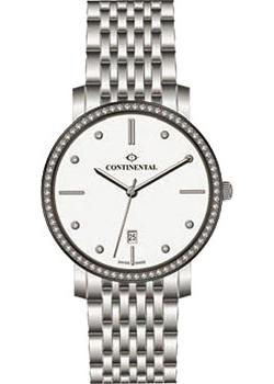 Швейцарские наручные  женские часы Continental 12201-LD101131. Коллекция Sapphire Splendour