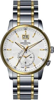 Швейцарские наручные мужские часы Continental 12204-GM312130. Коллекция Sapphire Splendour