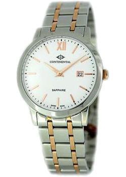 Швейцарские наручные мужские часы Continental 13602-GD815710. Коллекция Sapphire Splendour