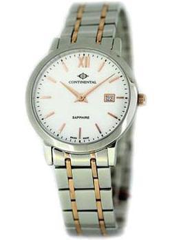 Швейцарские наручные мужские часы Continental 13602-LD815710. Коллекция Sapphire Splendour
