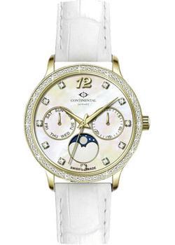 Швейцарские наручные женские часы Continental 14602-LM257501. Коллекция Leather Sophistication