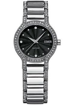 Швейцарские наручные  женские часы Cover CO130.01. Коллекция Ladies