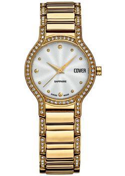 Швейцарские наручные  женские часы Cover CO130.04. Коллекция Brilliant times
