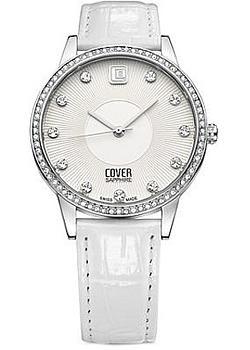 Швейцарские наручные  женские часы Cover CO153.02. Коллекция Brilliant times