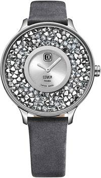 Швейцарские наручные  женские часы Cover CO158.02. Коллекция Piedra