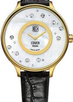 Швейцарские наручные  женские часы Cover CO158.09. Коллекция Piedra