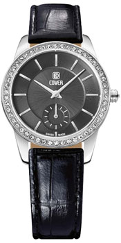 Швейцарские наручные  женские часы Cover CO174.05. Коллекция Reflections