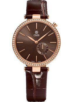 Швейцарские наручные  женские часы Cover CO178.04. Коллекция Concerta