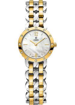 Швейцарские наручные  женские часы Cover CO179.02. Коллекция Minea