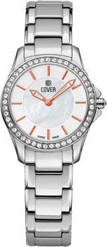 Швейцарские наручные  женские часы Cover CO184.03. Коллекция Lavinia