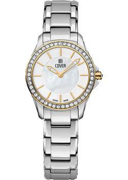 Швейцарские наручные  женские часы Cover CO184.04. Коллекция Lavinia