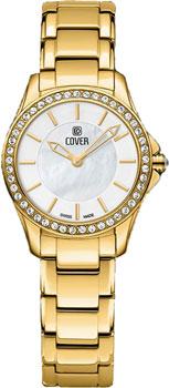 Швейцарские наручные  женские часы Cover CO184.05. Коллекция Lavinia