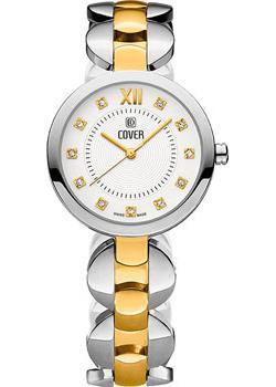 Швейцарские наручные  женские часы Cover CO187.02. Коллекция Classic Viola