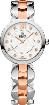 Швейцарские наручные женские часы Cover CO187.03. Коллекция Classic Viola