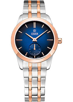 Швейцарские наручные  женские часы Cover CO195.02. Коллекция Nobila