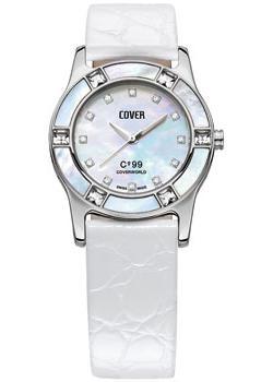 Швейцарские наручные  женские часы Cover CO99.07. Коллекция Ladies
