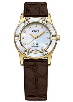 Швейцарские наручные  женские часы Cover CO99.08. Коллекция Brilliant times