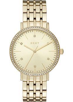 fashion наручные  женские часы DKNY NY2607. Коллекция Minetta
