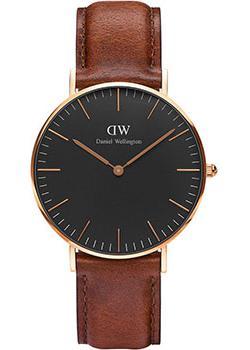 fashion наручные  женские часы Daniel Wellington DW00100136. Коллекция Classic Black St Mawes