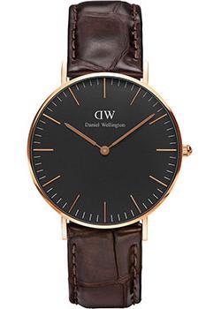 fashion наручные  женские часы Daniel Wellington DW00100140. Коллекция Classic Black York
