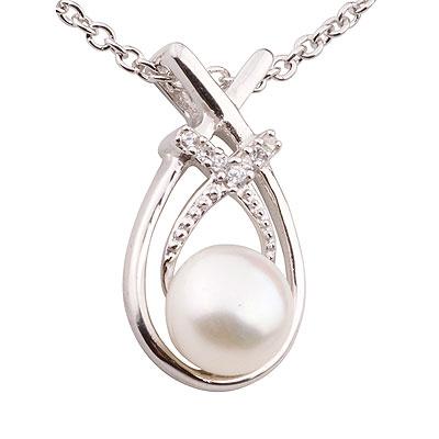Кулон с жемчугом De'luna- это актуальность и красота, не подвластная веяниям времени и...