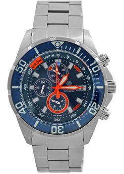 Швейцарские наручные  мужские часы Deep Blue DMTRBLU. Коллекци Depthmeter Pro