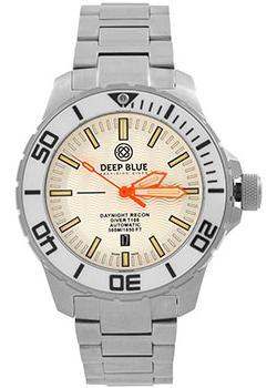 Швейцарские наручные  мужские часы Deep Blue DNR65WHTORG. Коллекция DayNight Recon T-100. Производитель: Deep Blue, артикул: w156054