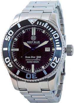 Швейцарские наручные  мужские часы Deep Blue ODBLU. Коллекци Ocean Diver