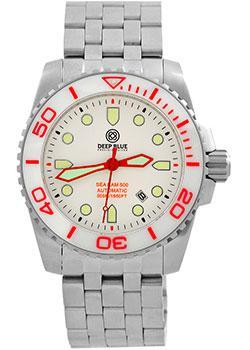 Купить Швейцарские наручные мужские часы Deep Blue SRAWC. Коллекция Sea Ram Automatic