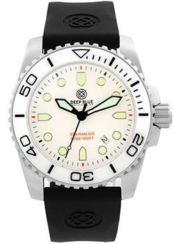 Швейцарские наручные  мужские часы Deep Blue SRQWD. Коллекци Sea Ram Quartz
