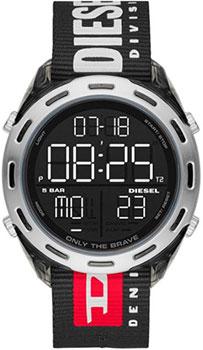 Наручные  мужские часы Diesel DZ1914. Коллекция Crusher