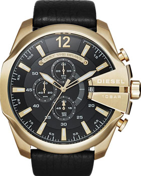 Наручные  мужские часы Diesel DZ4344. Коллекция Mega Chief