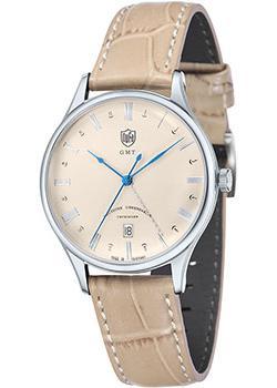 Наручные мужские часы DuFa DF-9006-05. Коллекция Weimar Gmt
