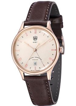 Наручные мужские часы DuFa DF-9006-07. Коллекция Weimar Gmt
