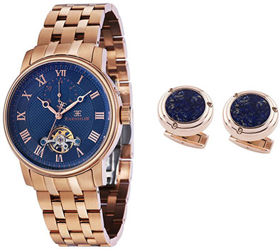 мужские часы Earnshaw ES-8042-SETA-02. Коллекция Westminster