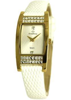 Швейцарские наручные  женские часы EverSwiss 2766-LLS. Коллекция Classic